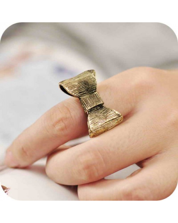 """Интересные кольца  """"Бантик"""". Магазин Soroka.me"""