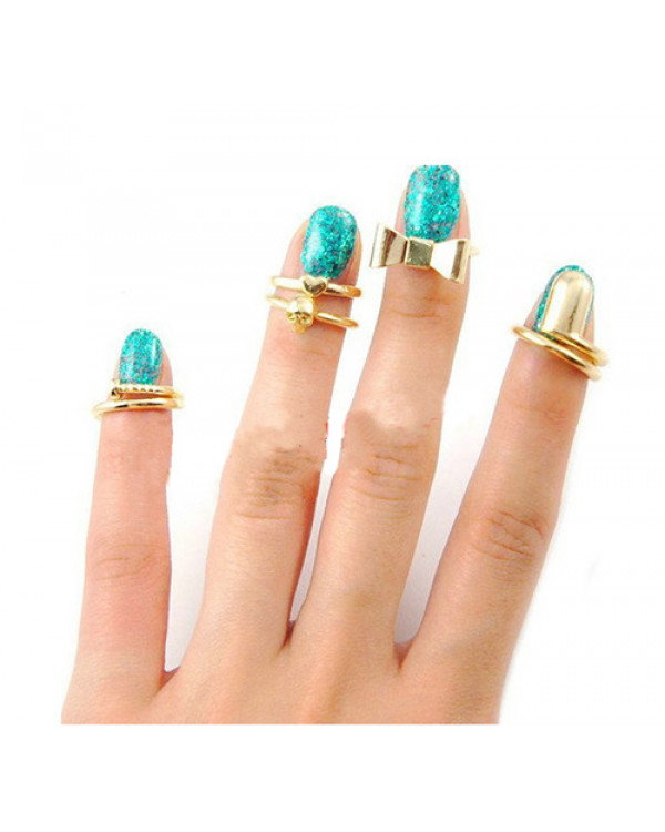 Набор колец на пальцы и фаланги