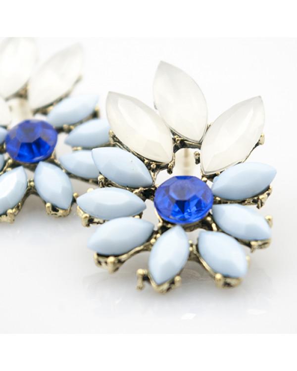 """Комплект """"Zara Blue"""" -  - актуально и стильно! Шикарное колье и красивые серьги от Сорока.Ми"""